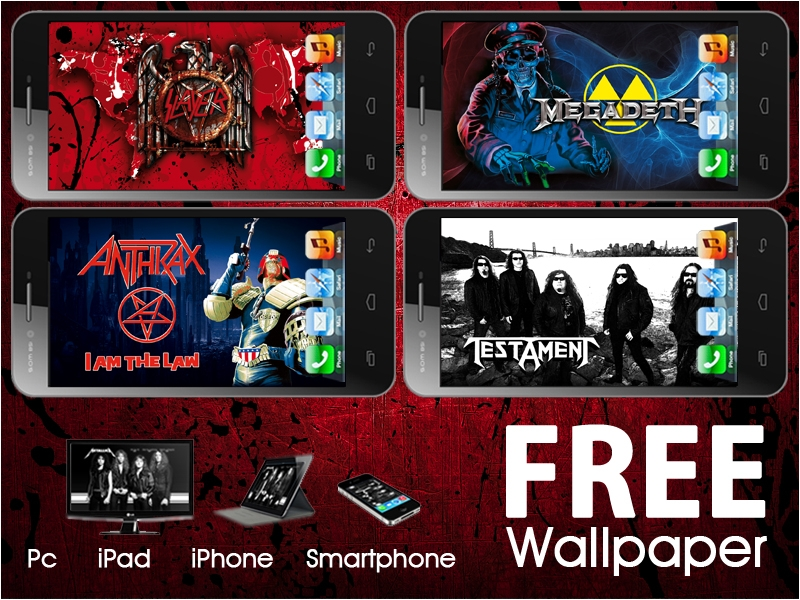 Thrash Metal Bands Wallpapers